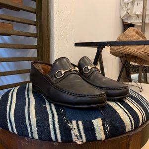 Gucci horsebit loafers vintage 1970s 44